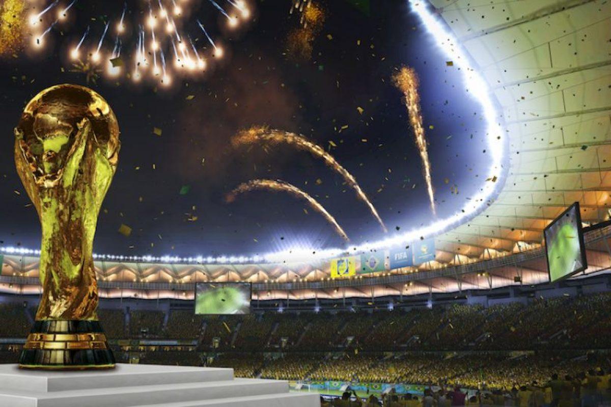 Así luce la Copa del Mundo. Foto:EA Sports. Imagen Por:
