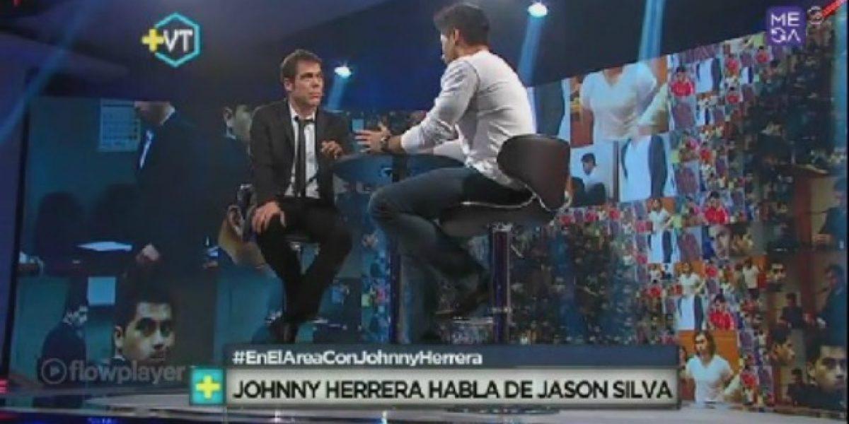 Álvaro Escobar vive tenso momento con Johnny Herrera en