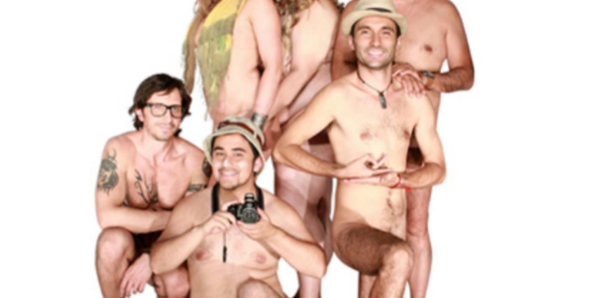 Público se desnudó completamente para ver obra sobre el nudismo en Parque Forestal