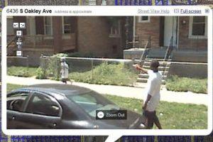 Amenazar a un niño con una pistola. Foto: Google Street View. Imagen Por: