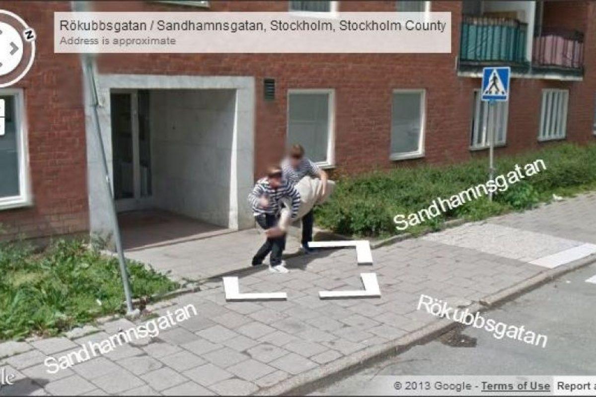 Amigos de lo ajeno parte 1. Foto: Google Street View. Imagen Por: