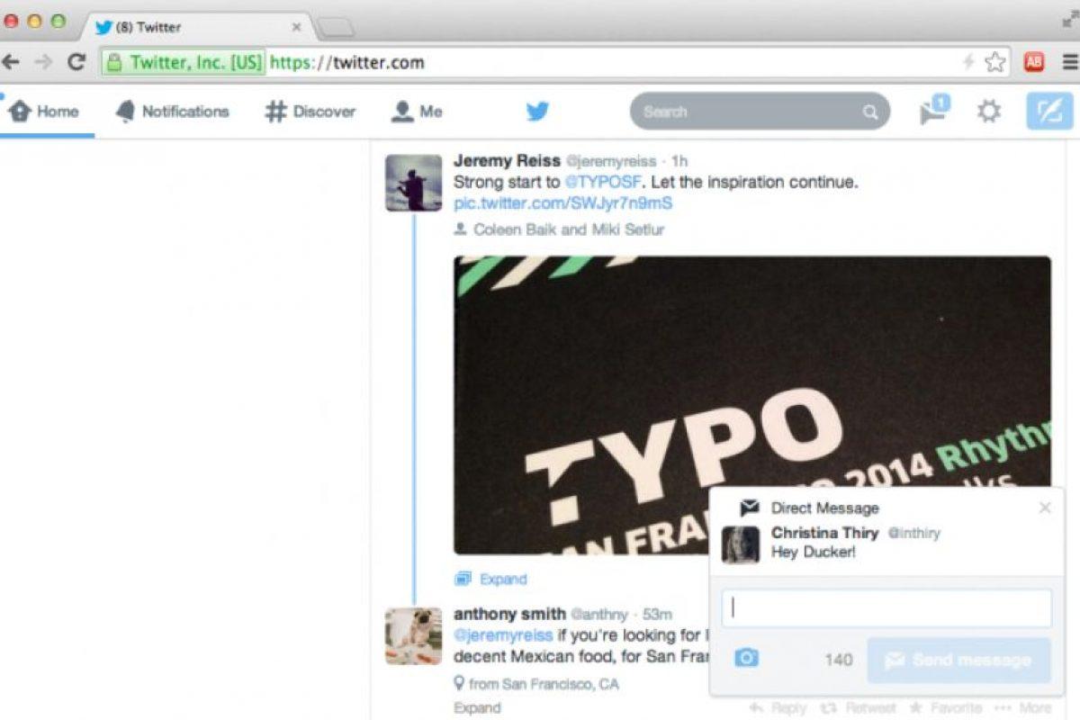 Notificaciones push en la red social. Foto:Twitter. Imagen Por: