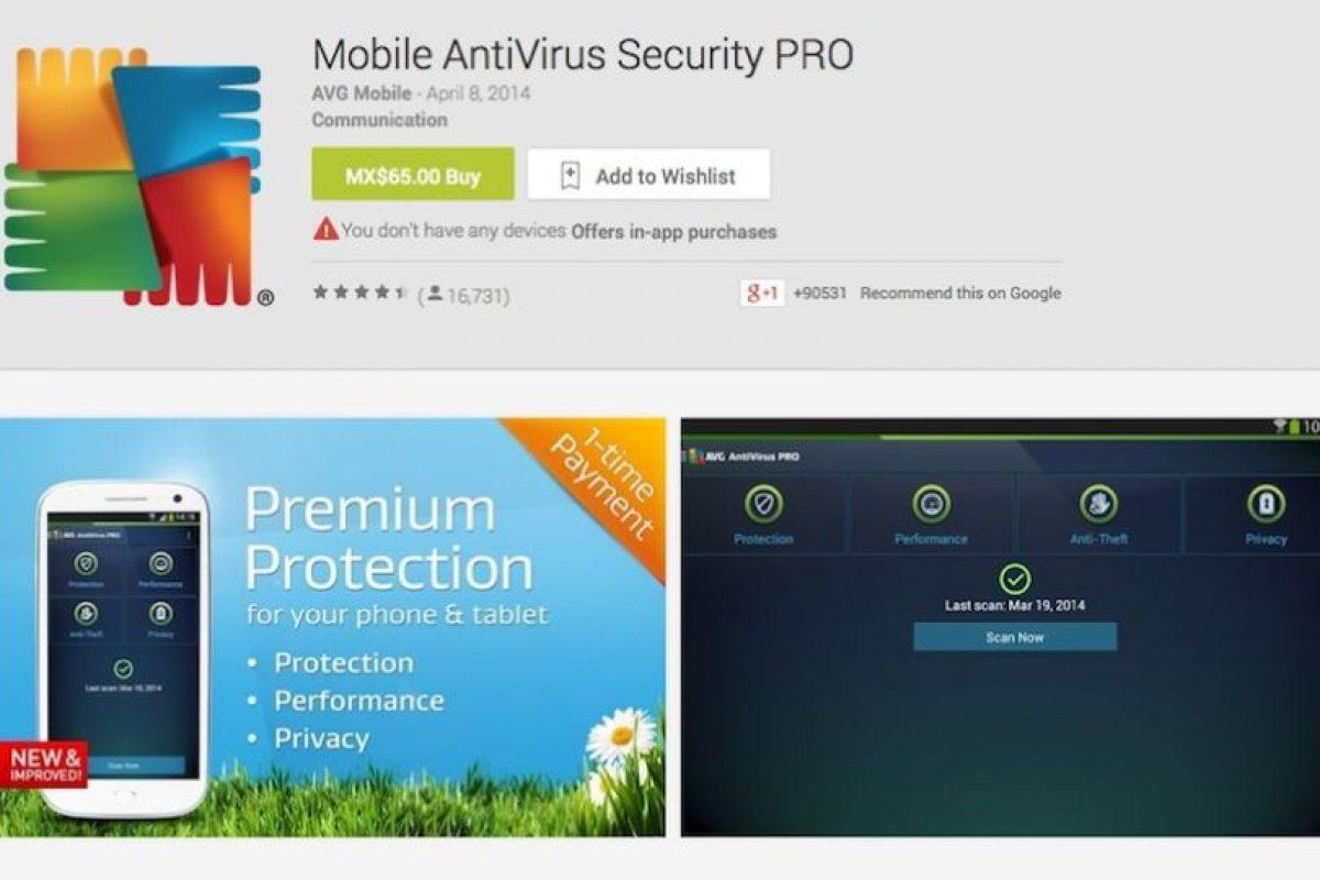 La batalla eterna con los dispositivos Android es verificar que las aplicaciones que se descarguen no tengan virus o malware. Esta aplicación nos protegerá de software mal intencionado y, tal com lo dicen las reseñas, es muy seguro. Foto:Google Play image. Imagen Por: