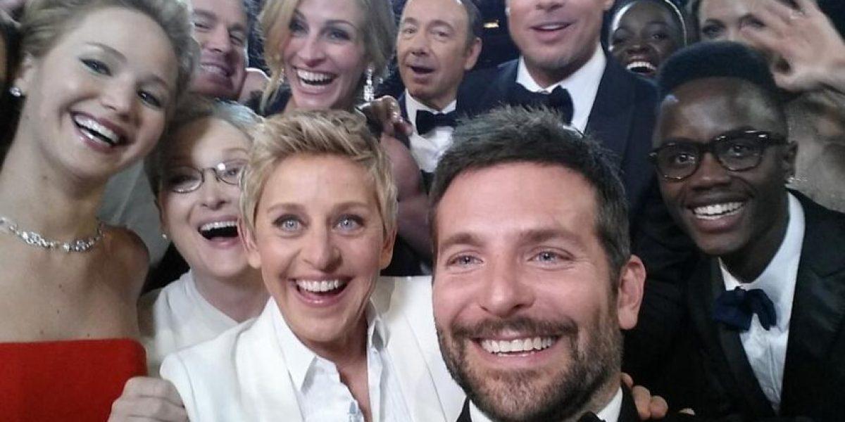 Twitter inmortaliza con una pintura en sus oficinas el selfie de Ellen DeGeneres