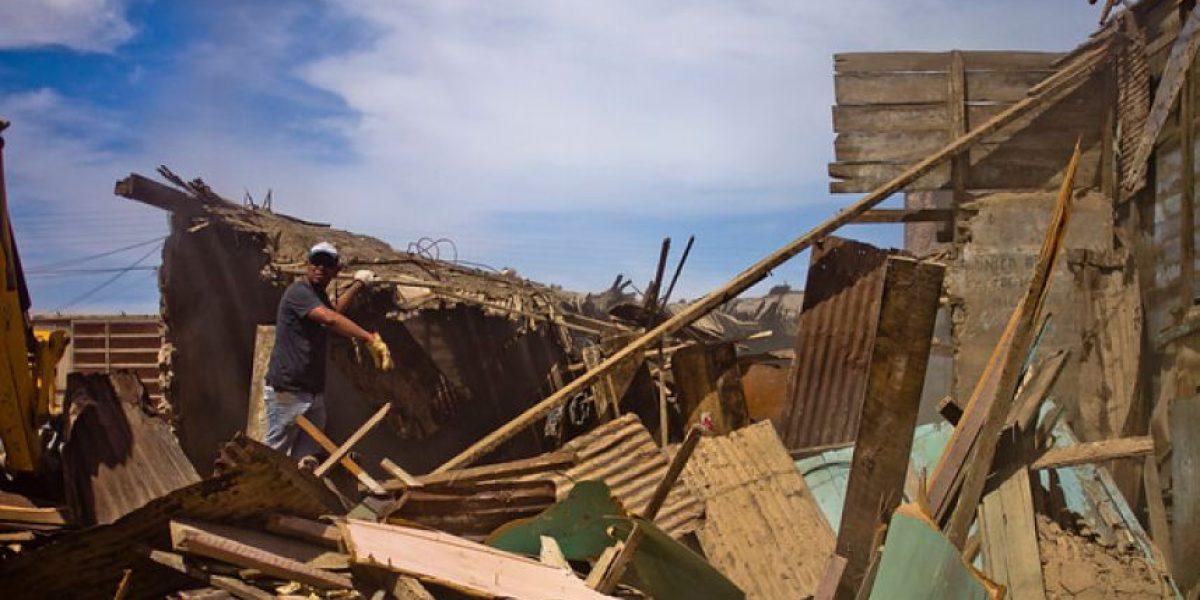 Fotos: Gobierno entrega catastro en zona de terremoto y anuncia medidas para viviendas no reparables