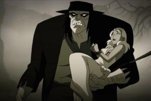 Un extraño gigante lleva a una atractiva dama. Foto:DC Entertainment. Imagen Por: