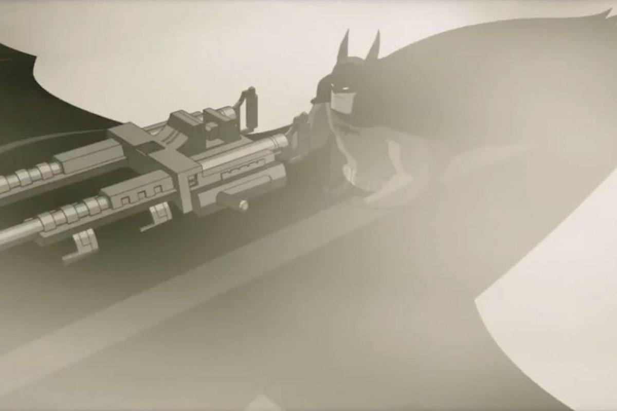 Aparece Batman en su vehículo volador. Foto:DC Entertainment. Imagen Por: