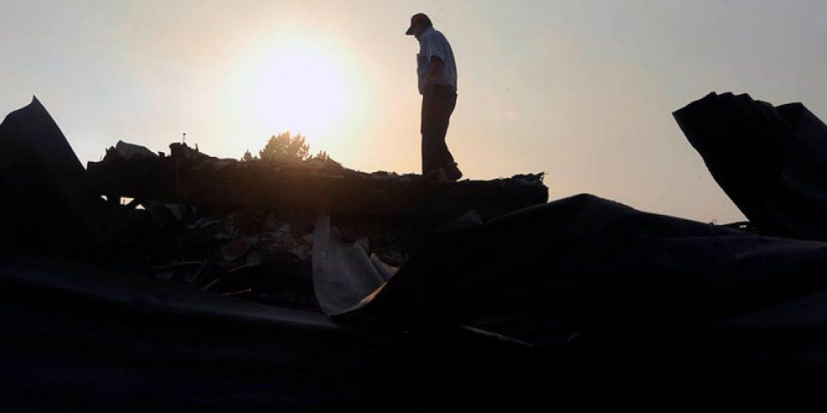 FOTOS: Con este panorama amaneció Valparaíso tras gigantesco incendio