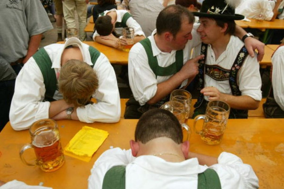 5.- Bebidas alcohólicas. Foto:Getty images. Imagen Por: