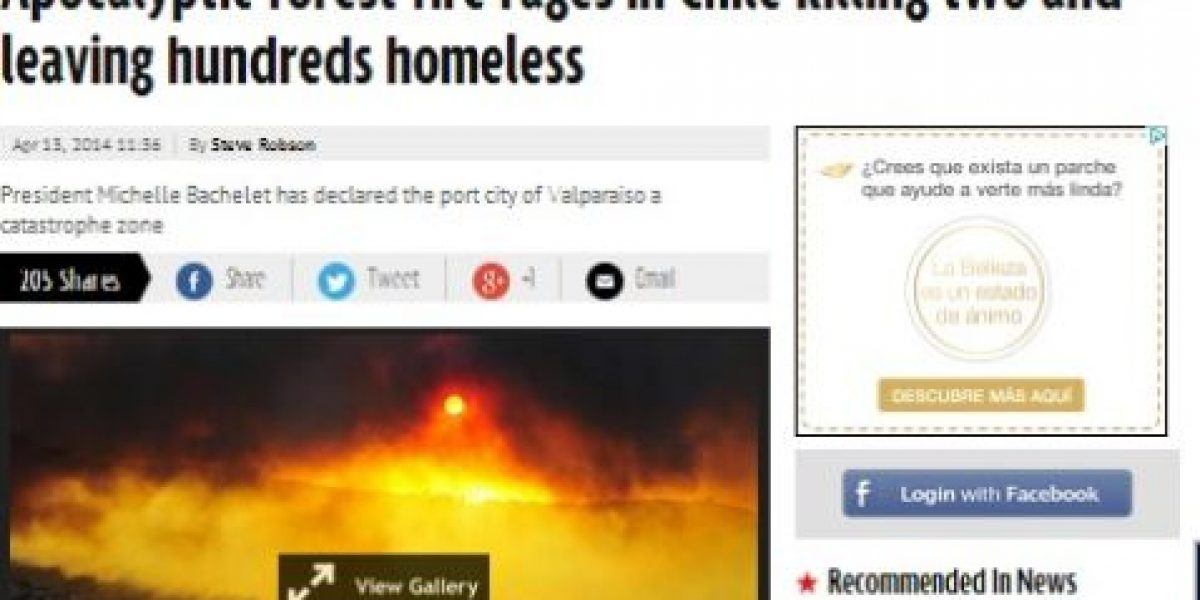 Galería: Medios internacionales califican de
