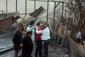 Los habitantes de estas zonas no sólo corren el peligro de incendios, tambiñén de derrumbes e inundaciones Foto:AFP. Imagen Por: