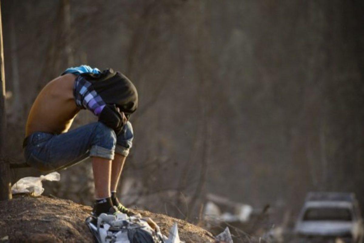 La parte alta de Valparaíso son ascentamiento irregulares Foto:AFP. Imagen Por: