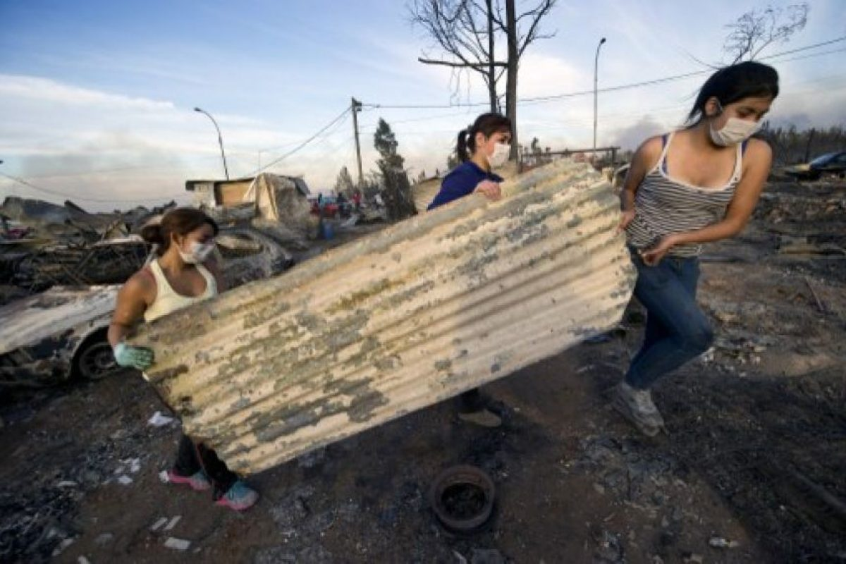 Al rededor de 250 familias viven en este lugar Foto:AFP. Imagen Por: