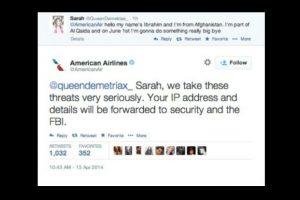 Varios países consideran que las amenazas de bomba, ciertas o no, son un crimen. Foto:Captura de pantalla / Twitter. Imagen Por:
