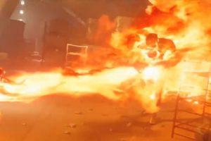 El ataque a los centinelas. Foto:YouTube / X-MenYouTube / X-Men. Imagen Por: