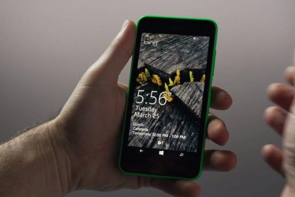 La pantalla de bloqueo en Windows Phone 8.1 Foto:Windows Phone. Imagen Por: