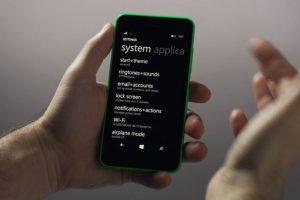 Ajustes en Windows Phone 8.1 Foto:Windows Phone. Imagen Por: