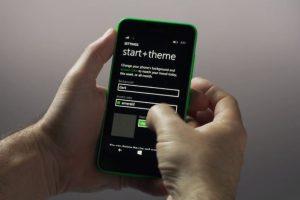Se puede cambiar el fondo del menú principal. Foto:Windows Phone. Imagen Por: