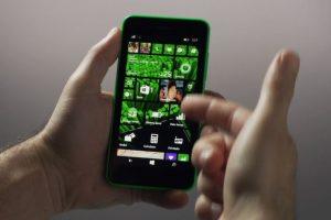 Así lucirá con una imagen prediseñada. Foto:Windows Phone. Imagen Por: