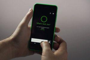 Pueden hablarle o escribirle. Foto:Windows Phone. Imagen Por: