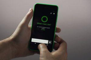 Cortana, el asistente personal de voz. Foto:Windows Phone. Imagen Por: