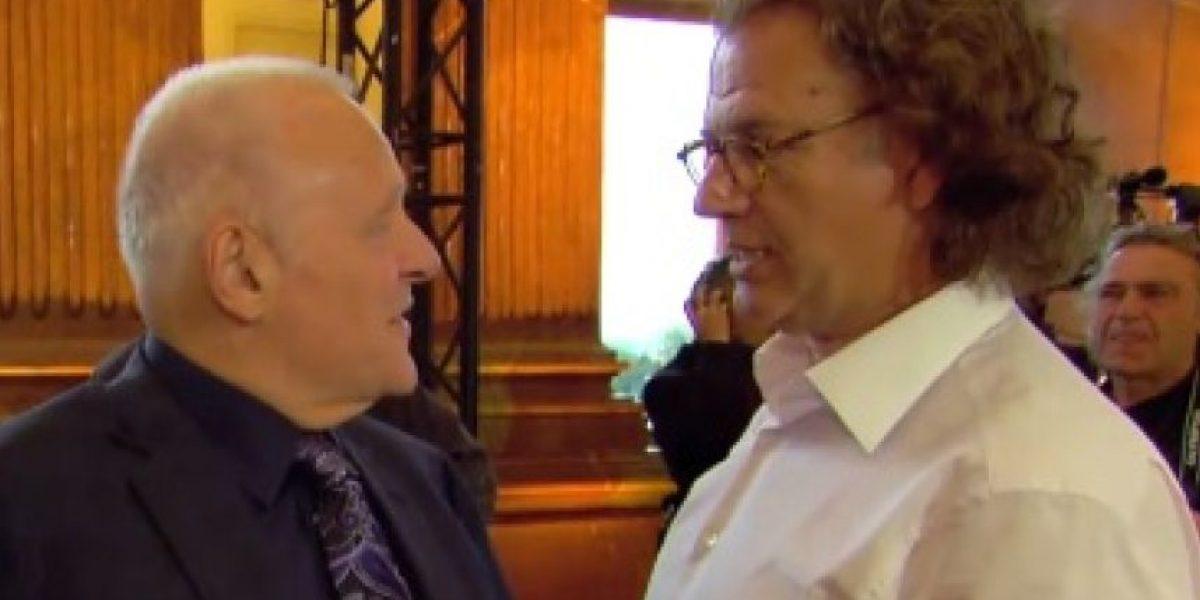 Video: La conmovedora reacción de Anthony Hopkins
