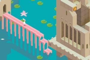 """La princesa en uno de los niveles de """"Monument Valley"""". Foto:ustwo. Imagen Por:"""