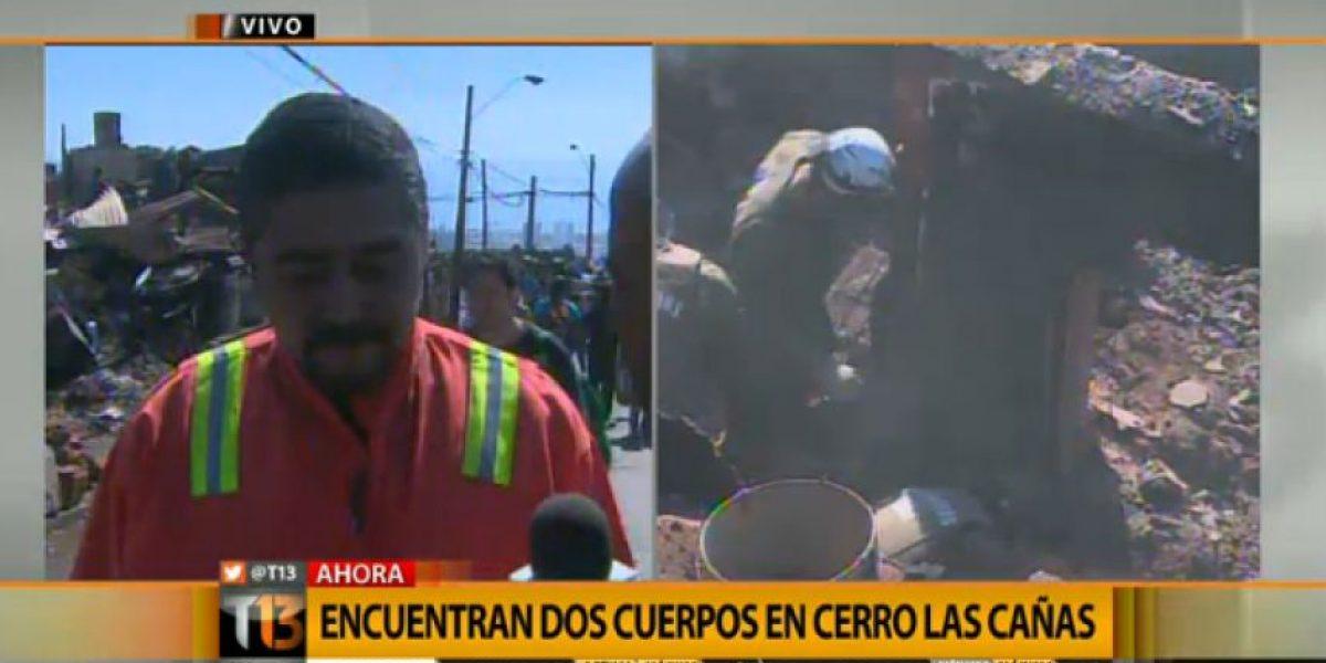Un padre y su hijo aumentan a 14 cifra de víctimas fatales del incendio de Valparaíso