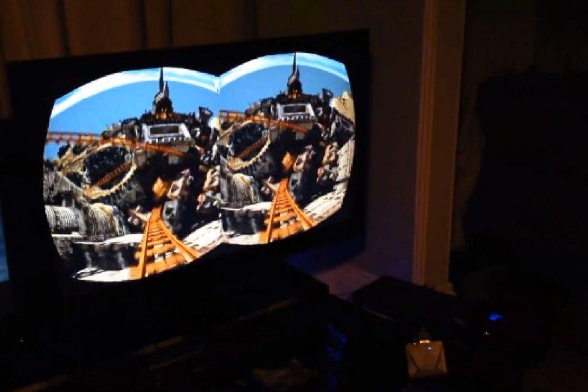Estos jugadores deciden experimentar con un simulador de montaña rusa Foto:Video Captura. Imagen Por: