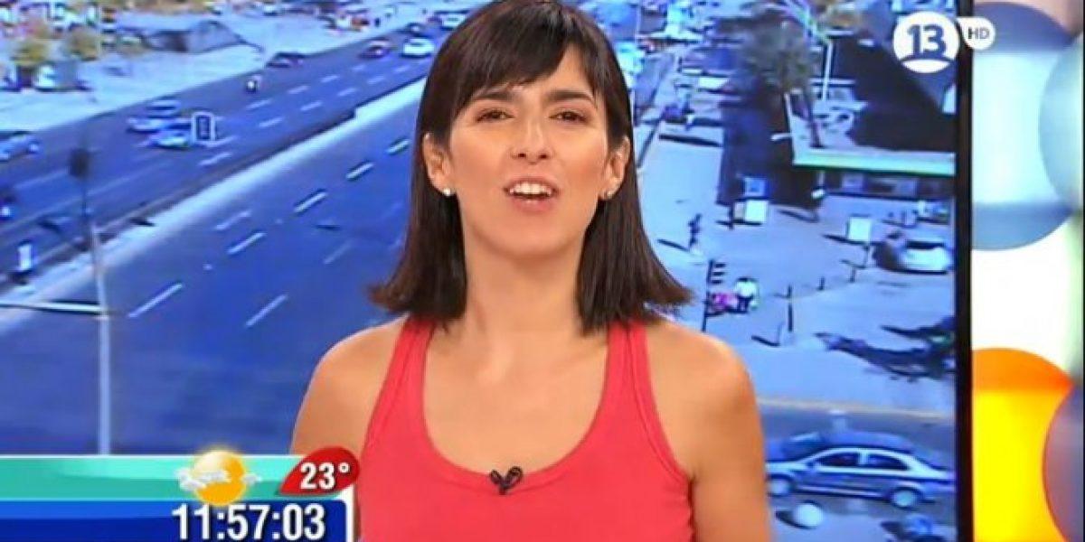Paz Bascuñán debutó en el matinal