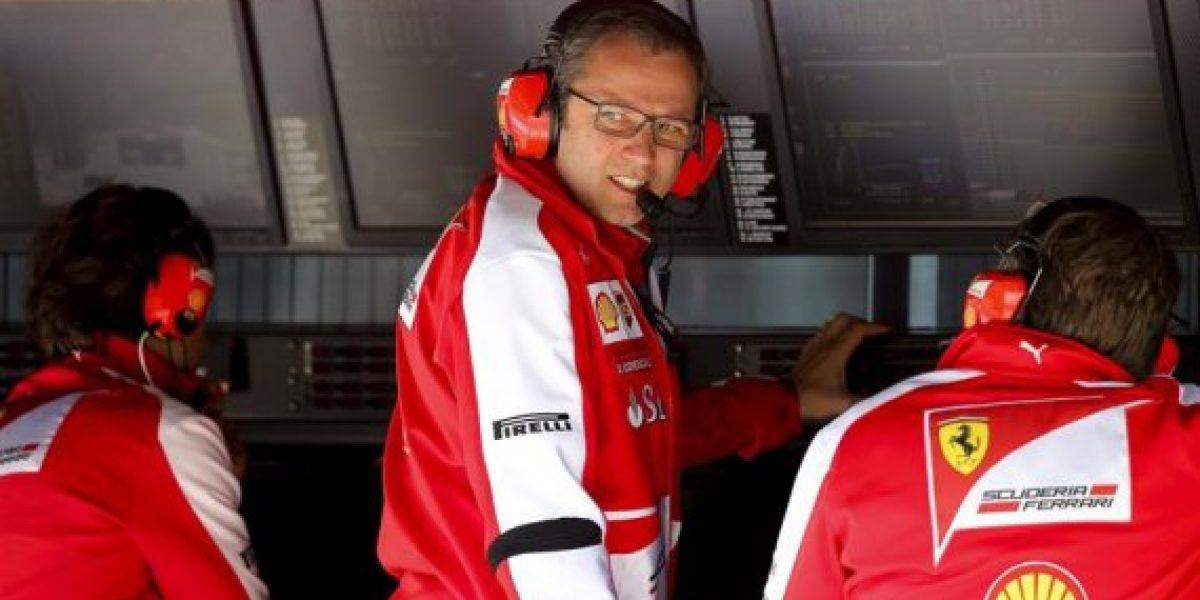 Stefano Domenicali deja Ferrari
