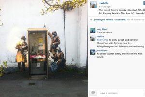 El fin de semana habitantes de la ciudad de Cheltenham se encontraron con esta agradable sorpresa Foto:Instagram. Imagen Por: