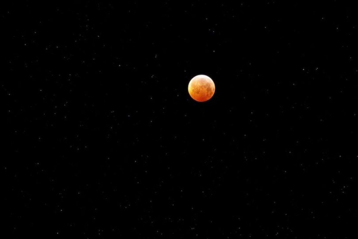 Eclipse lunar Foto:Getty. Imagen Por: