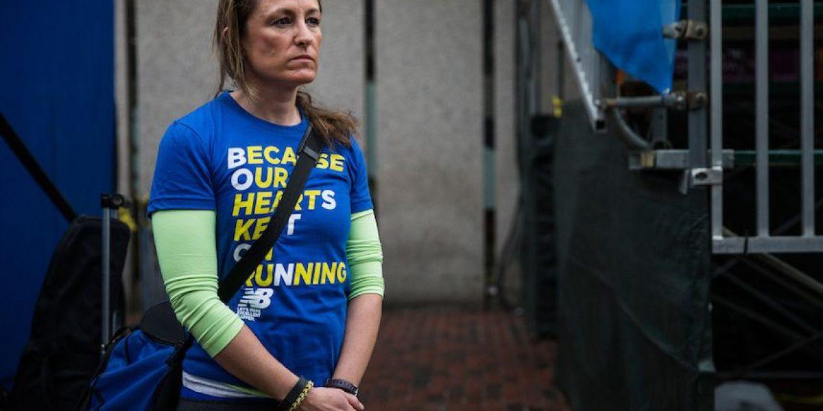 Fotos: Conmemoran primer aniversario del atentado en el Maratón de Boston
