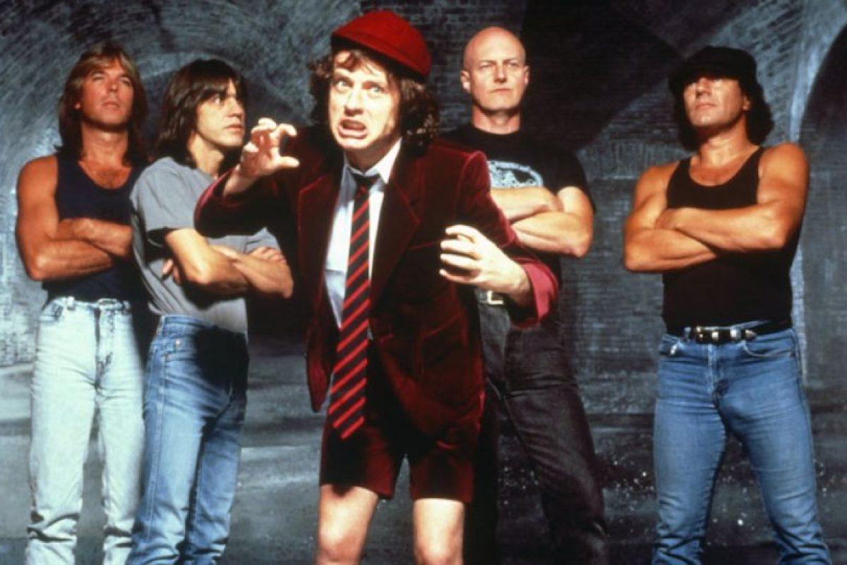 Banda legendaria AC/DC Foto:www.acdc.com. Imagen Por: