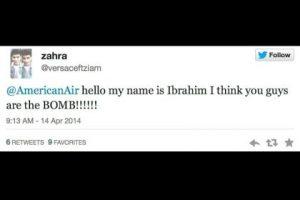 """""""Hola, mi nombre es Ibrahim y creo que ustedes son la BOMBA"""". Foto:Captura de pantalla / Twitter. Imagen Por:"""
