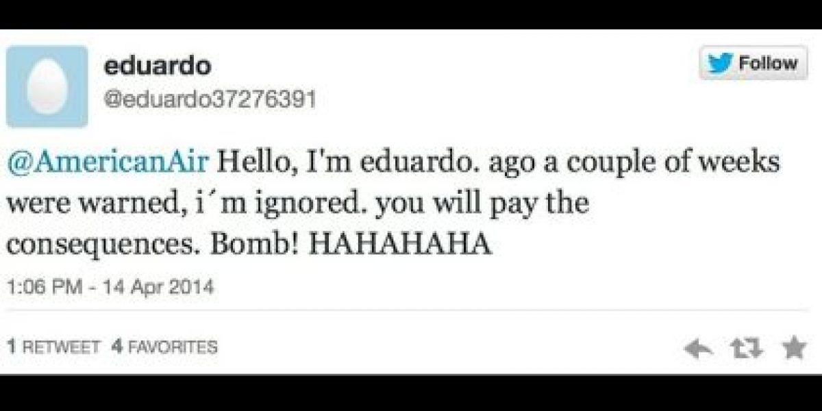 Amenazas terroristas: la nueva moda de Twitter