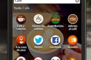 Así luce el celular de Firefox. Foto:Firefox. Imagen Por: