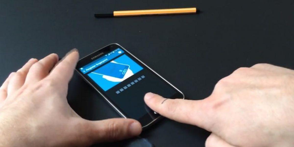 Video: Así engañaron al sensor dactilar del Samsung Galaxy S5