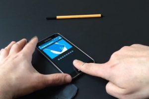 Autenticación de la huella dactilar. Foto:SRLabs. Imagen Por: