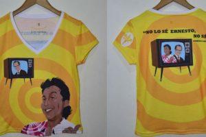 Diomedes Díaz ahora puede usarse en camisetas. Foto :El Heraldo. Imagen Por: