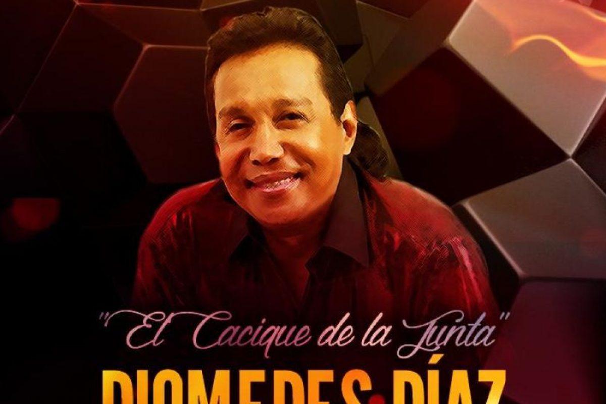 El cantante colombiano Diomedes Díaz. Foto: Diomedes Díaz/Facebook. Imagen Por: