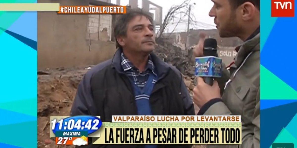 Julián Elfenbein se une a rostros en terreno y despacha desde Valparaíso