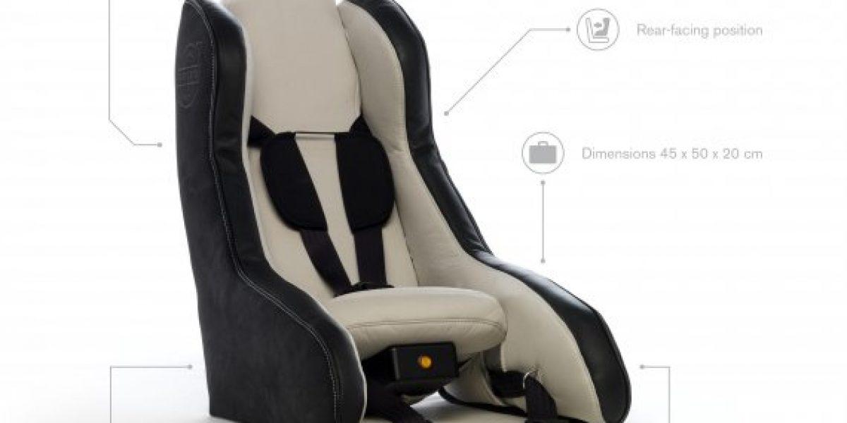 Volvo crea revolucionaria silla para niños inflable