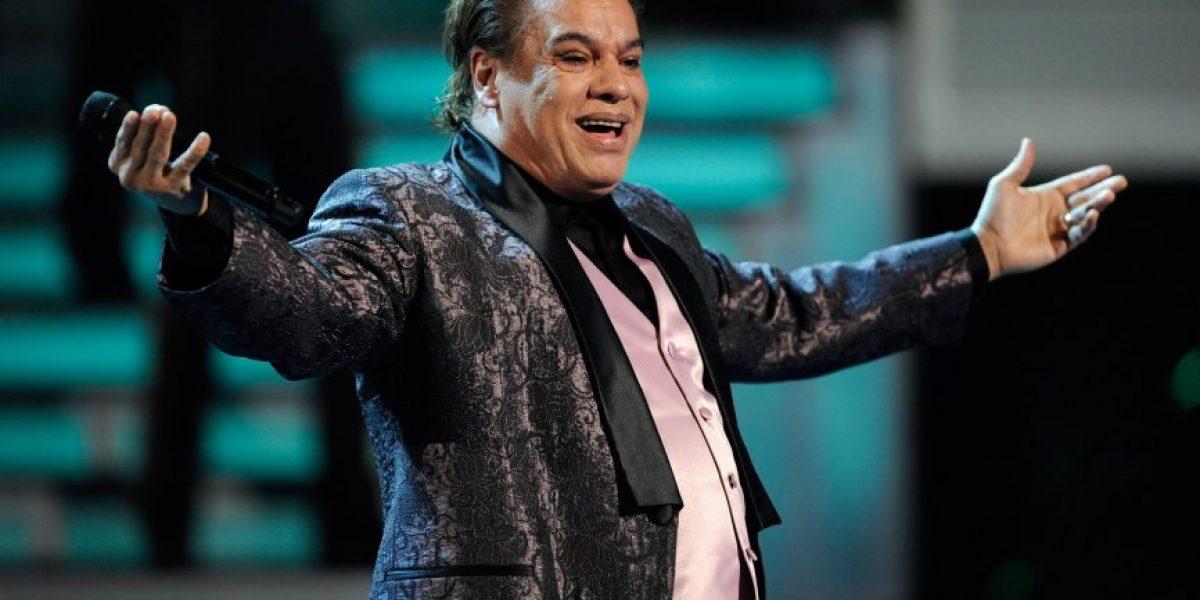 Reprograman concierto de Juan Gabriel en Chile por enfermedad