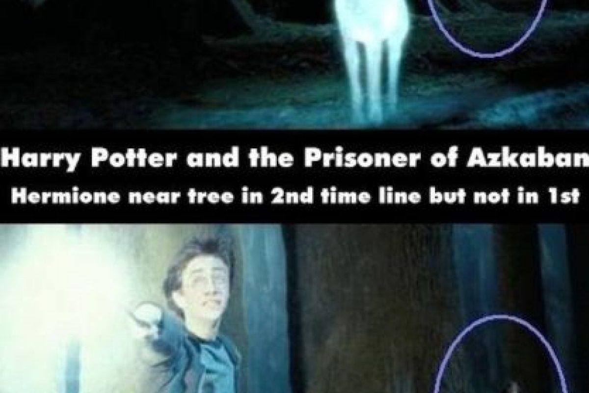 ¿Dónde estaba escondida Hermione? Foto:Moviemistakes.com. Imagen Por: