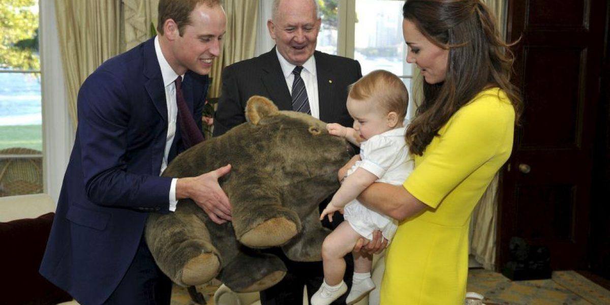 Mire las tiernas fotos del príncipe George en su primera visita a Australia