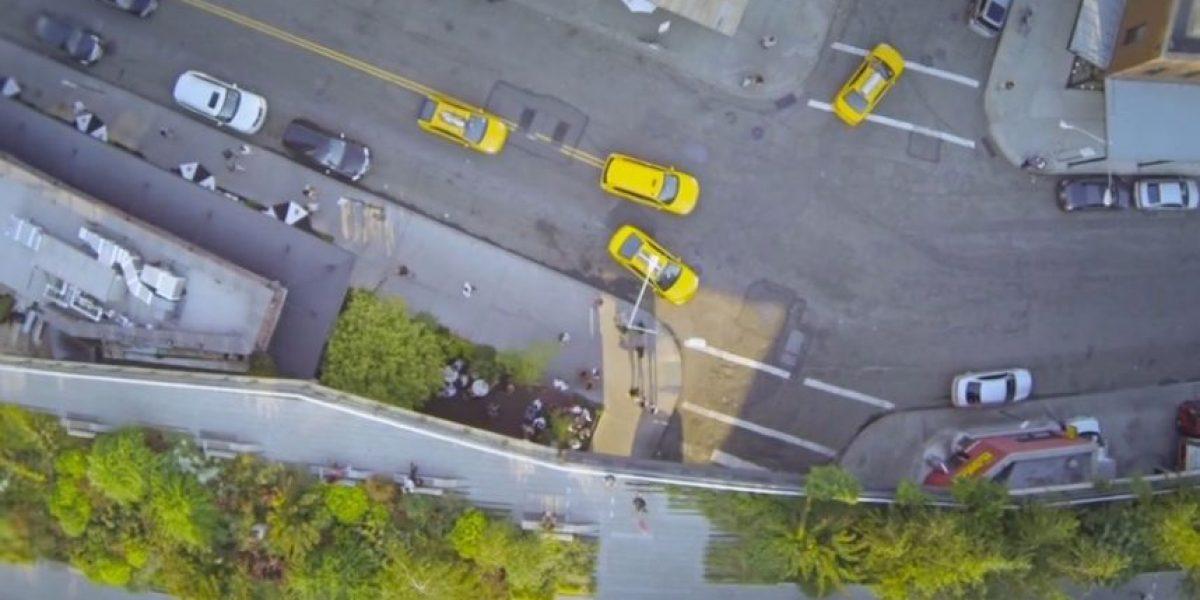 Video: Las increíbles imágenes del vuelo de un dron sobre Nueva York