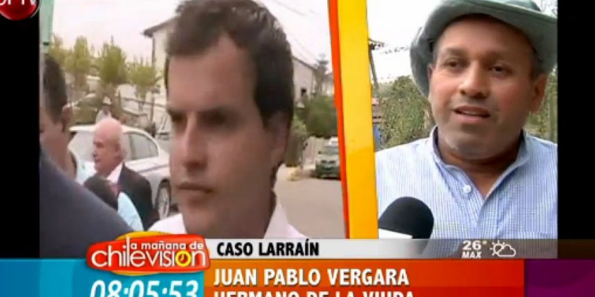 Hermano de viuda de Hernán Canales niega pago de dinero por retirar querella contra Martín Larraín