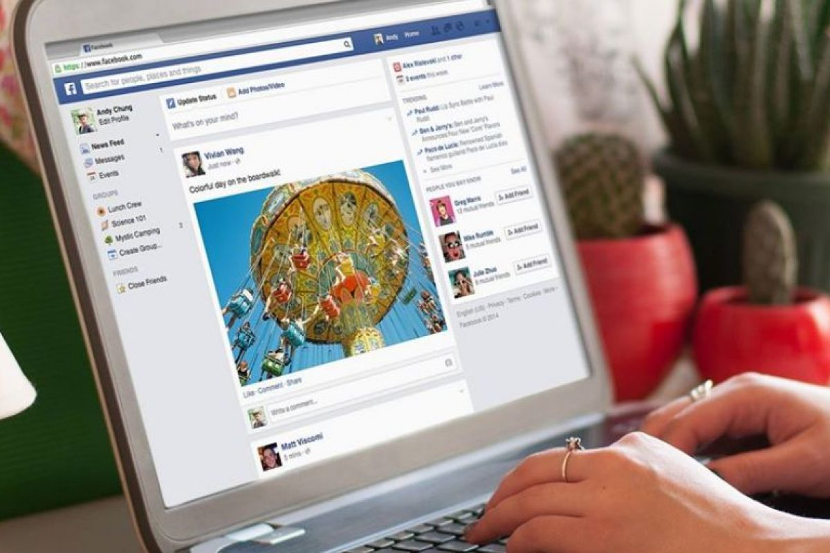 El News Feed fue rediseñado. Foto:Facebook. Imagen Por: